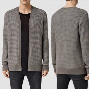 All Saints Eydon Cardigan Jumper Jacket Size XXL